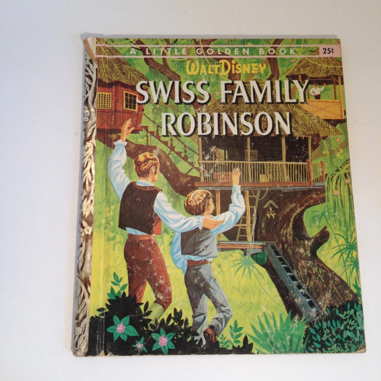 Swiss Family Robinson Disney S A Little Golden By Thebrownpear