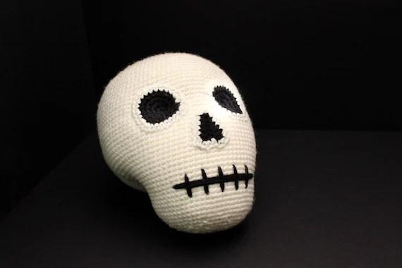 Skull Plush (PDF Pattern) image