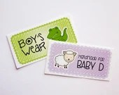 Cute Fabric Labels Sew-on...