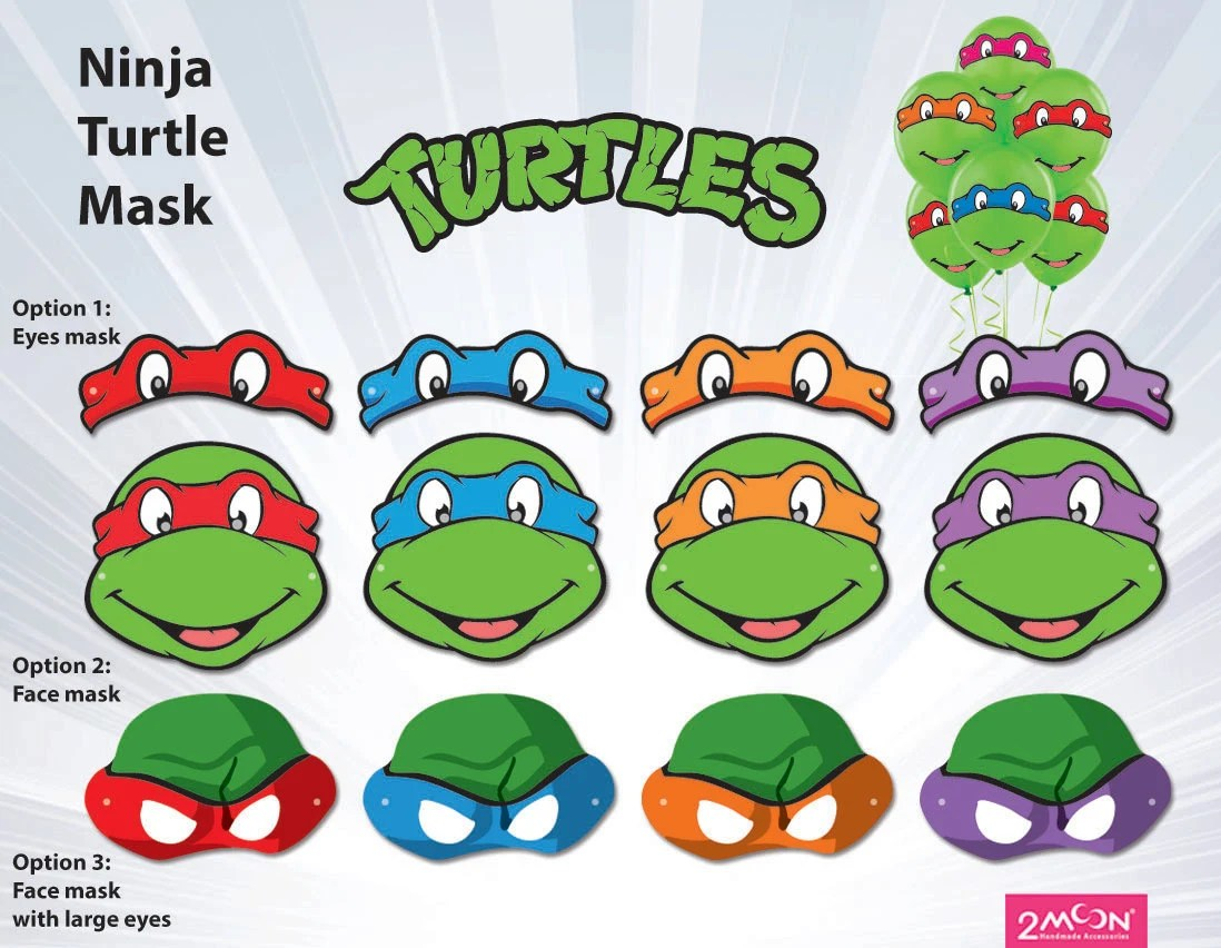 photograph about Printable Ninja Turtle Mask Template referred to as Ninja Turtle Mask Template. electronic mask ninja turtle