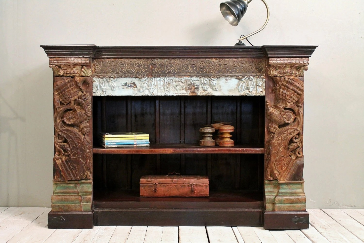 Reserved For Ashley SALE Low Bookcase Media Console TV Stand