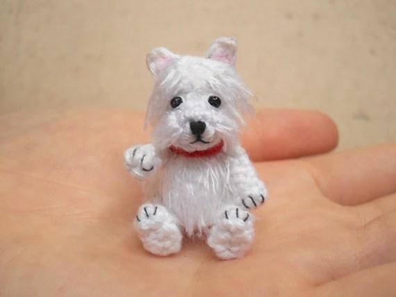 Weier Westie Hkeln Miniatur Hund Kuscheltiere Made To