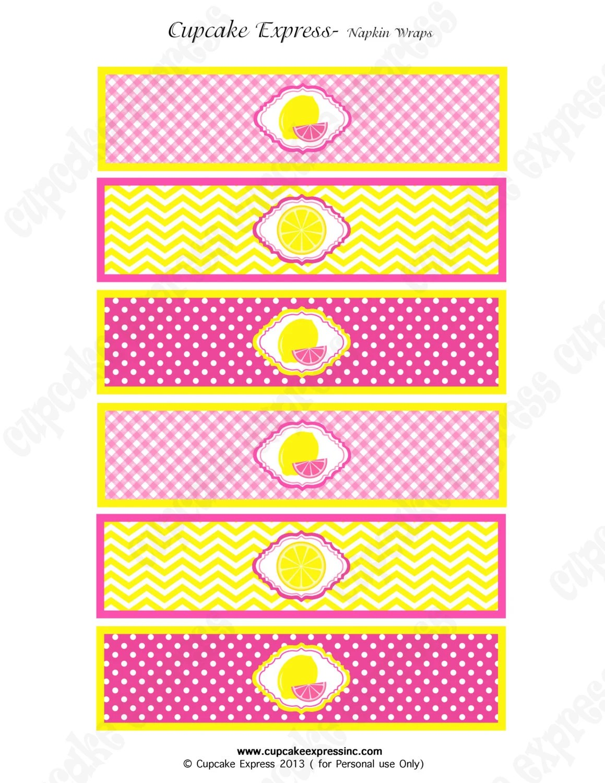 Instant Download Diy Pink Lemonade Stand Printable Birthday