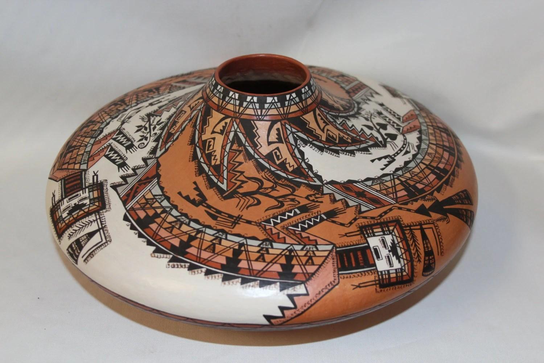 Navajo Pottery Exquisite Native American Navajo Pottery Jar