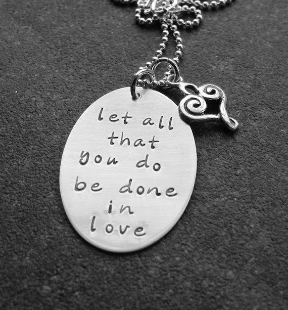 Download Let All That You Do Be Done In Love 1 Corinthians 16 14 Hand