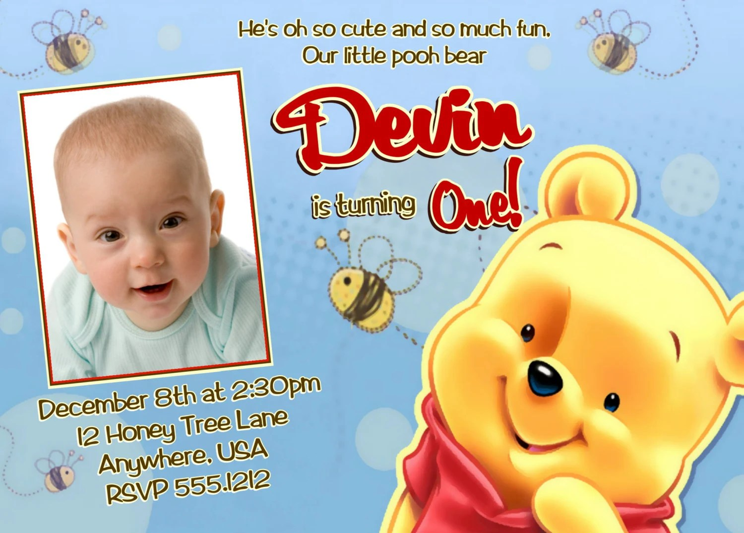birthday party themes winnie the pooh