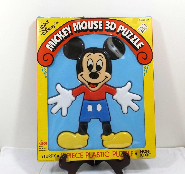 Illco Mickey Mouse 3 D Pre School Puzzle Ca
