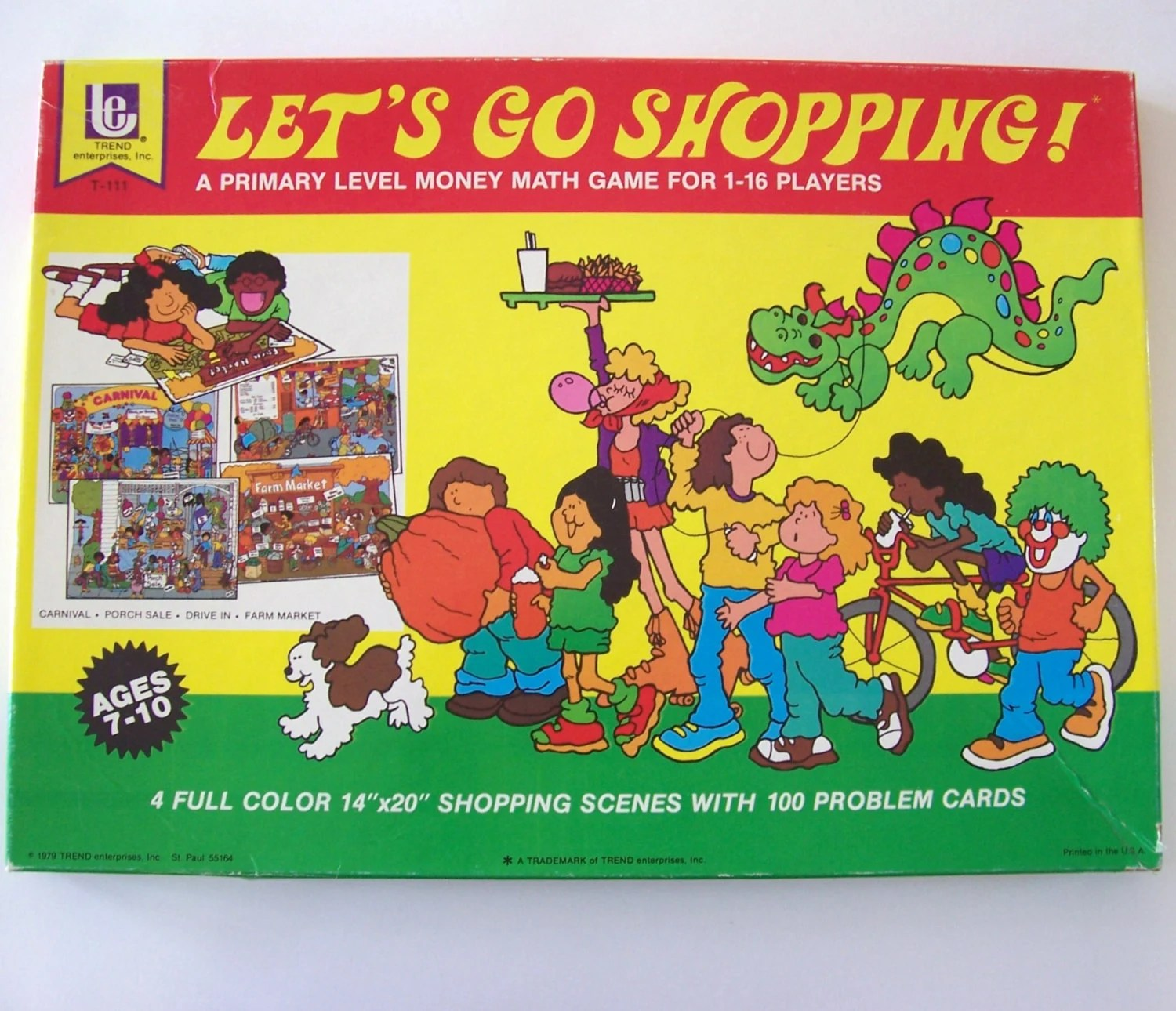 Let S Go Shopping Game Children S Money Math Game Ages