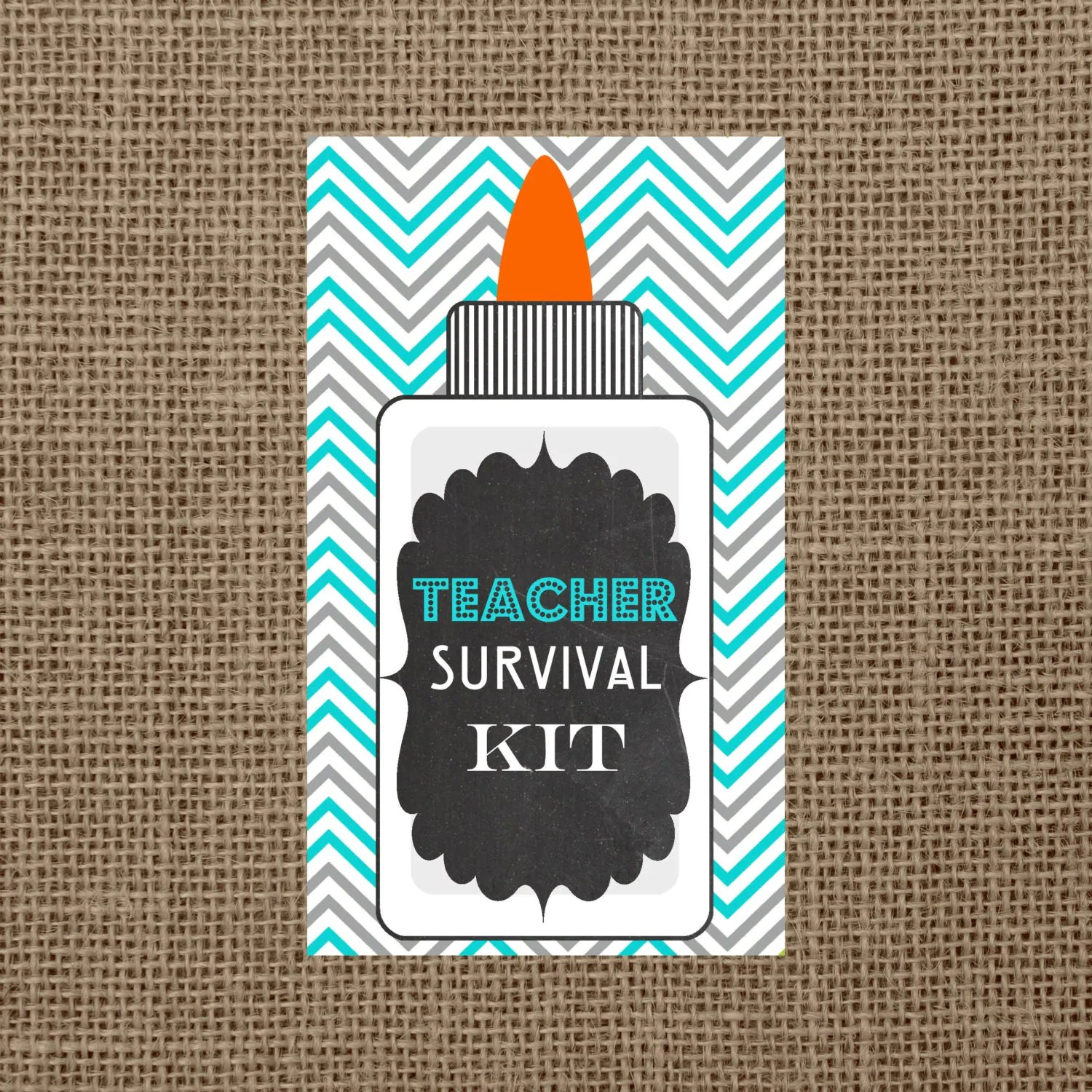 Instant Download Teacher Survival Kit By Oliviakatedesigns