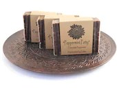 Chocolate Peppermint Soap - HandcraftedByErikka