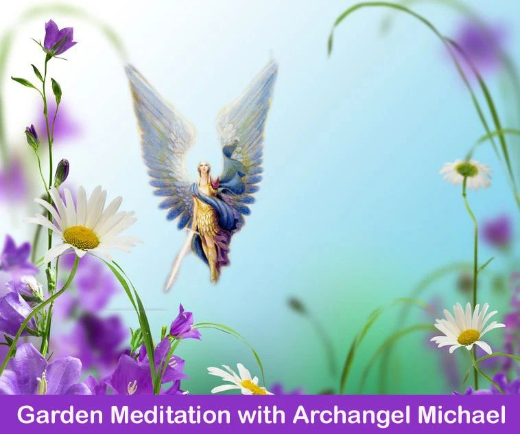 Garden Meditation with Archangel Michael - Archangels - Angel Meditation -  Guided Meditation - Relaxation - MP3 - TKCrystalHealing