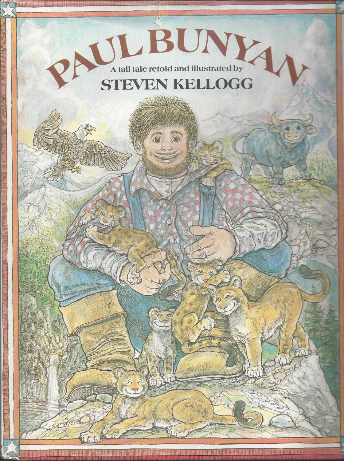 Paul Bunyan A Tall Tale Retold And Illustrated By Steven