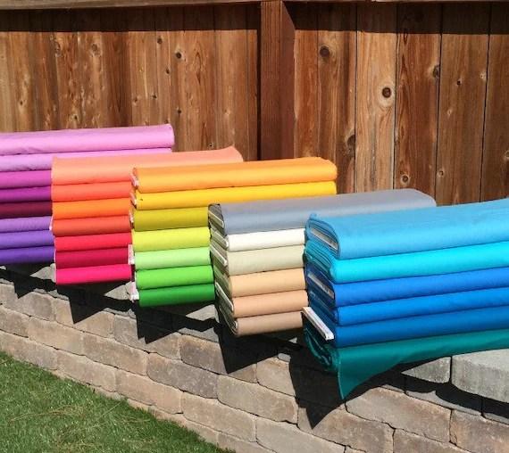 Kona Solids by Robert Kaufman Fabrics, 32 New Colors Bundle