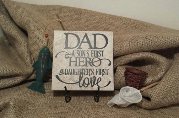 Download Dad A Son's First Hero A Daughter's First Love Vinyl