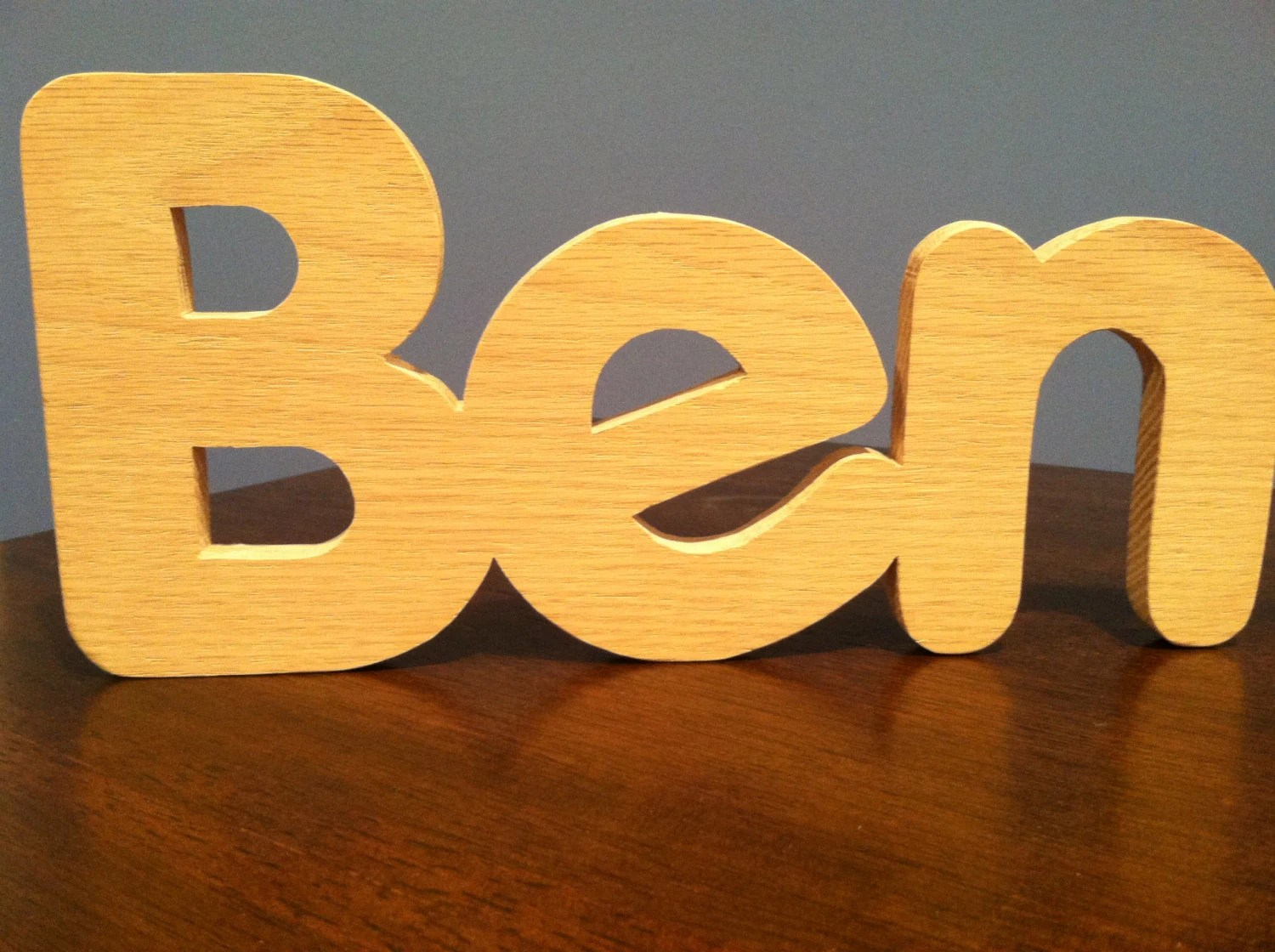 Wooden Letters Wooden Letters For Nursery By BigBrotherBens
