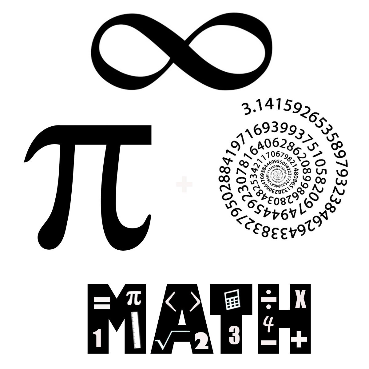 Math Temporary Tattoo Classroom Pack