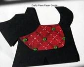 Scottie dog card - custom shaped card - CraftyPawsPaperGoods