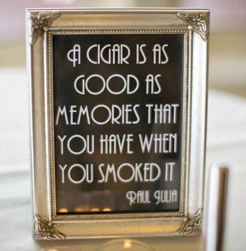 Printable Cigar Bar Quote...