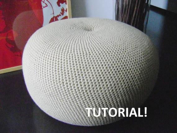Tuto Crochet Pouf