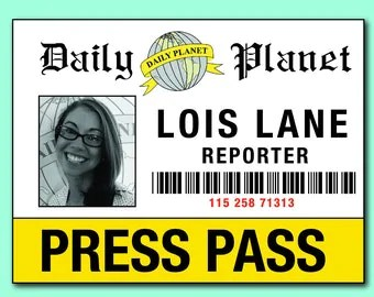 Press Pass Template Press Pass Template Microsoft Word All