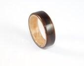 Wooden Ring Ebony and Mas...