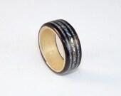 Wooden Ring - Ebony & Syc...