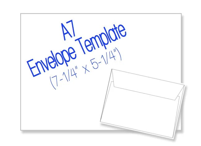 A7 Envelope Template. a7 envelope template. sample 8 documents in ...