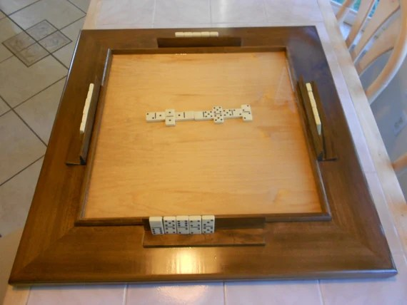 Solid Wood Table Top Domino Table
