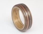 Bent Wood Ring Walnut and...