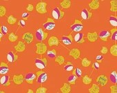 Utopia by Frances Newcombe for Art Gallery Fabrics - Chatter Pods Citrica - Yardage (1/4 Yard Minimum)