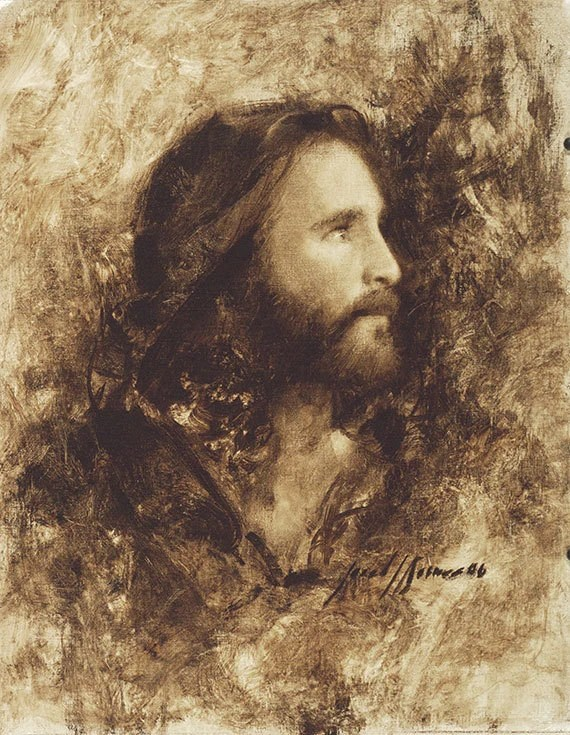 Jesus Christ Art Print Messiah by Artist Jared