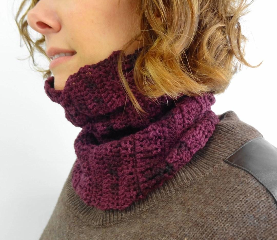 Crumple Cowl - Crochet Pa...