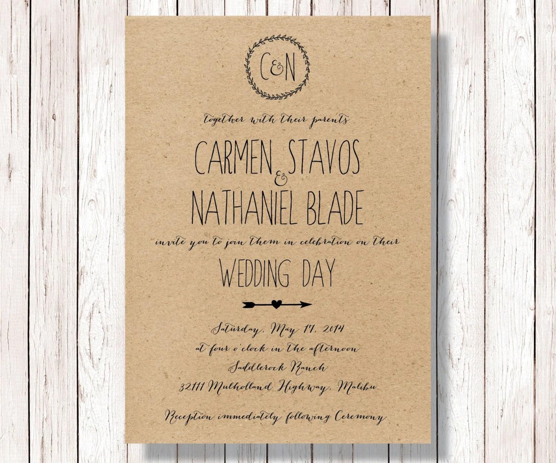 Diy Kraft Paper Wedding Invitations: Il_fullxfull.693661137_51cc.jpg