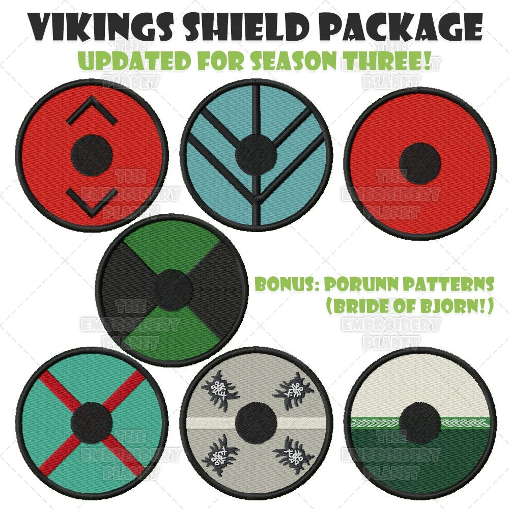 Shield Designs And Meanings
