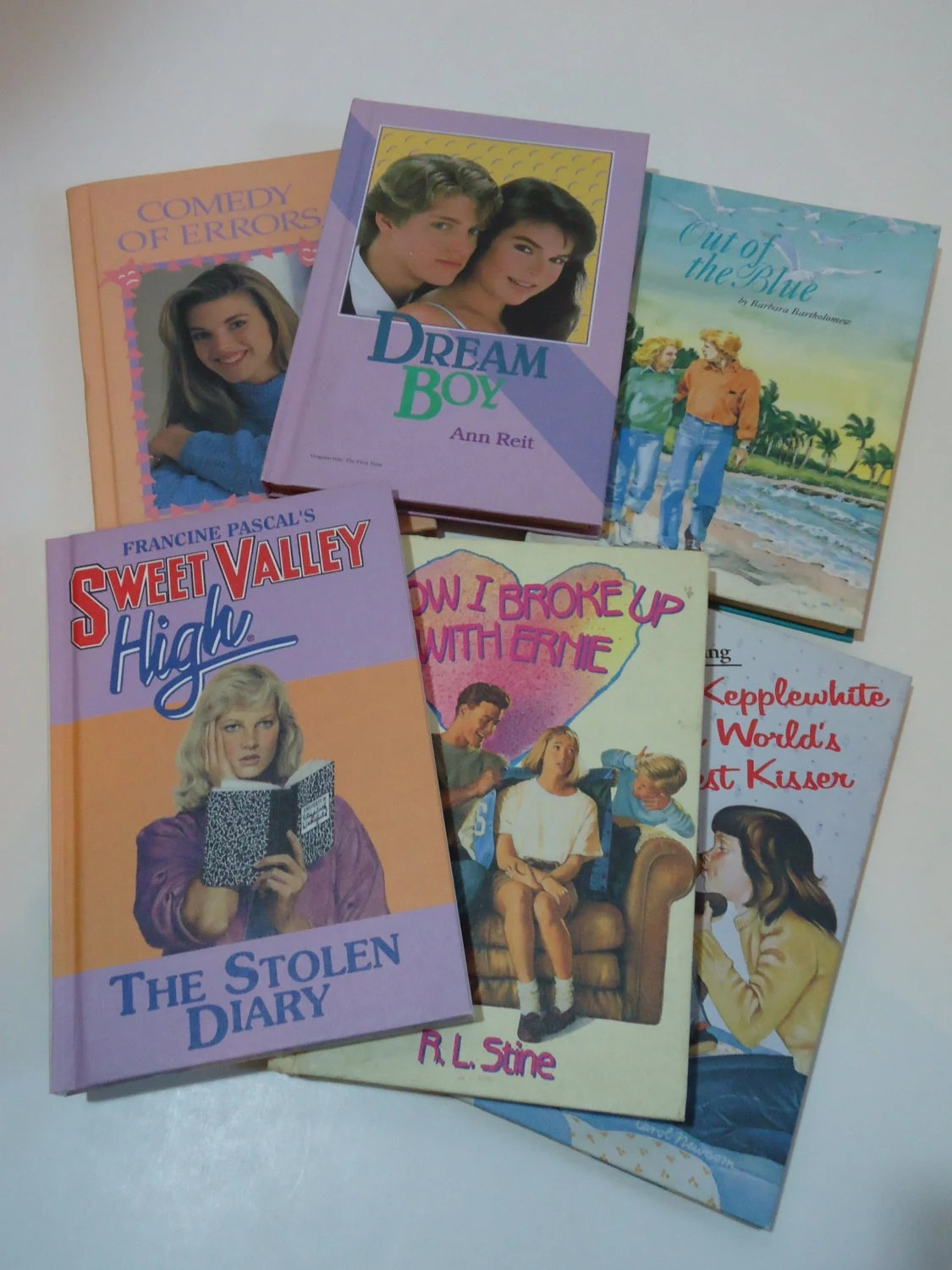 80 S Teen Girl Novels Especially For Girls Exclusive Book