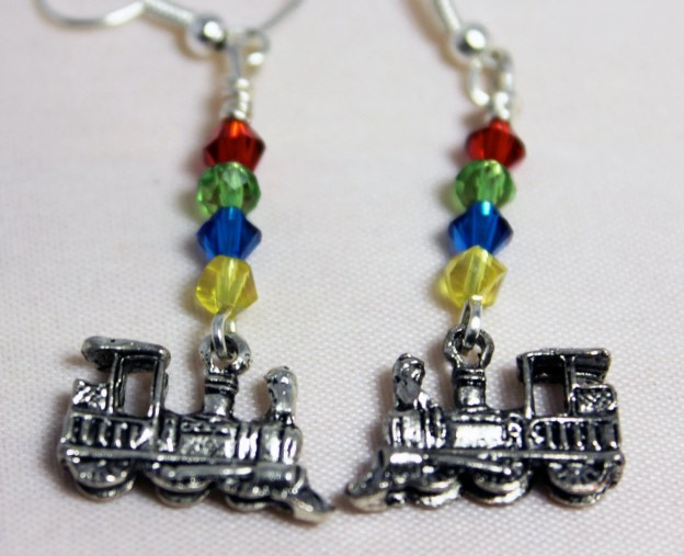Hogwarts Express Earrings...