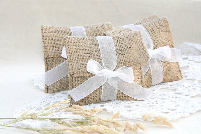 Rustic Wedding Favor Bag Rustic Gift Bag Custom By