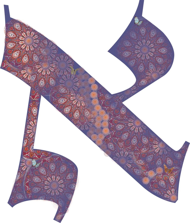 Hebrew Letters Alef Bet Guimel Dalet He