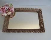 Large Mirrored Vanity Tra...