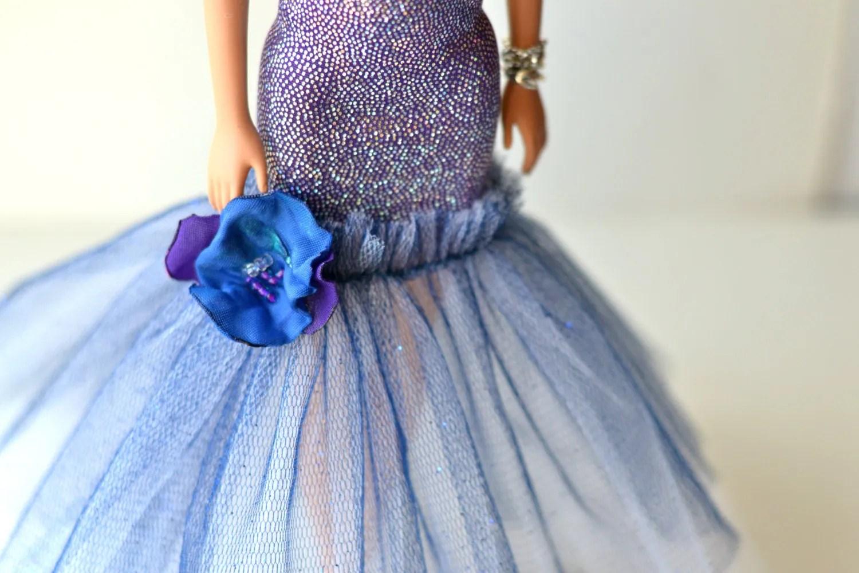 Fashion Doll Dress Wedding Fashion Doll Dress Evening Dress