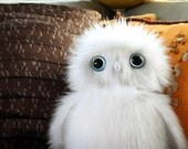 Large Snowy Owl Plush, Stuffed Owl, Stuffed toy, Owl Stuffed Animal, Cute owl plushie etsy