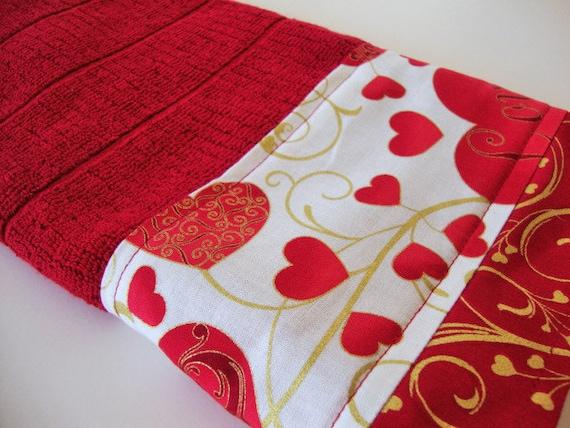Valentines Day Kitchen Towels Two Valentine Wikii