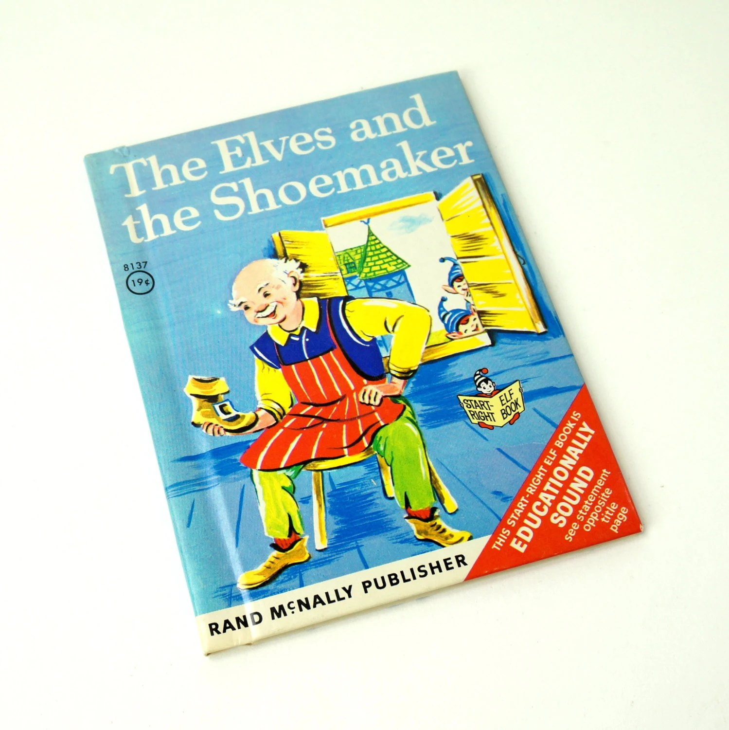The Elves And The Shoemaker By Brothers By Attyssproutvintage
