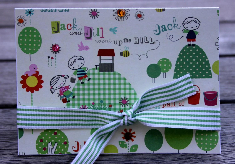 Jack And Jill Nursery Rhyme Blank Notecard