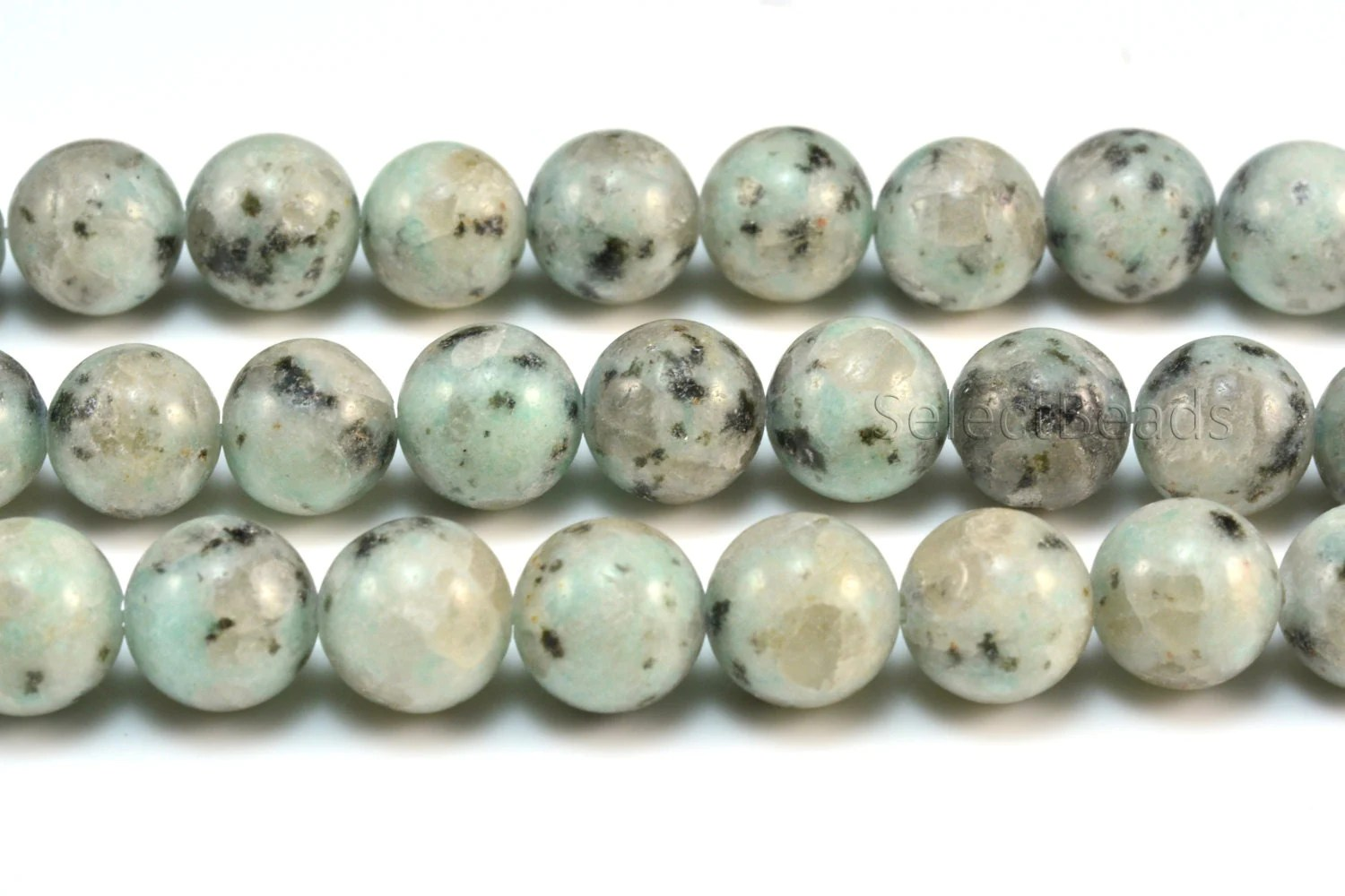 Sesame jasper round bead 6 14mm loose bead jewelry for Birthstone beads for jewelry making