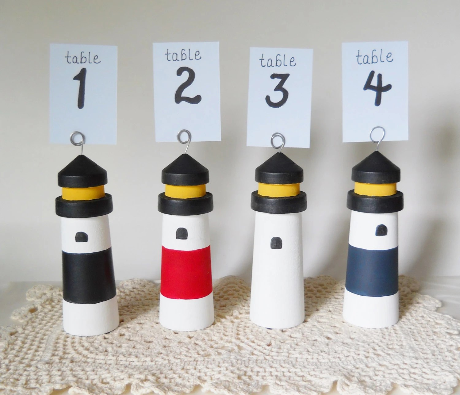Lighthouse Table Number Nautical Wedding Wedding By