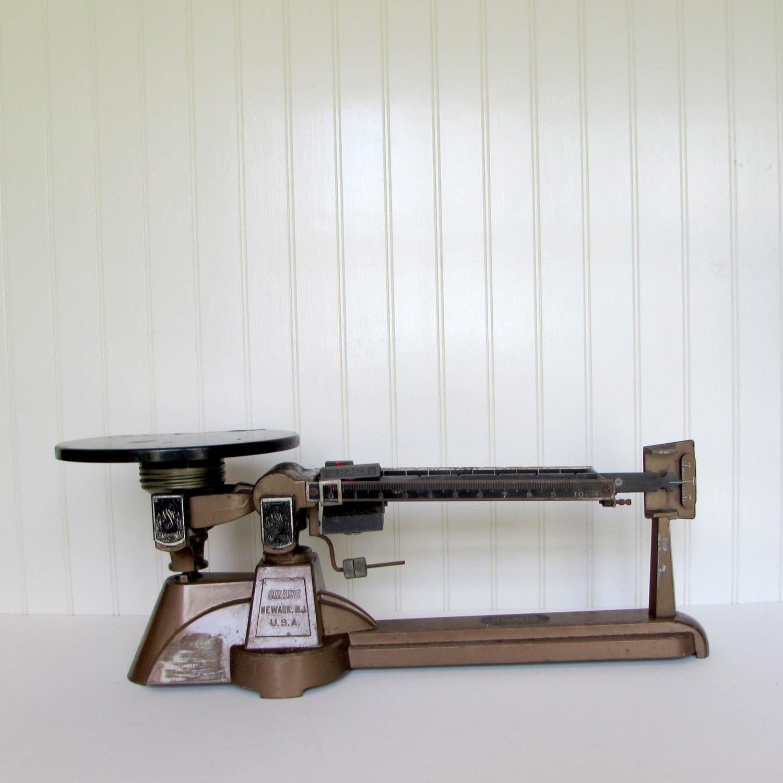 Vintage Ohaus Triple Beam Balance Scale