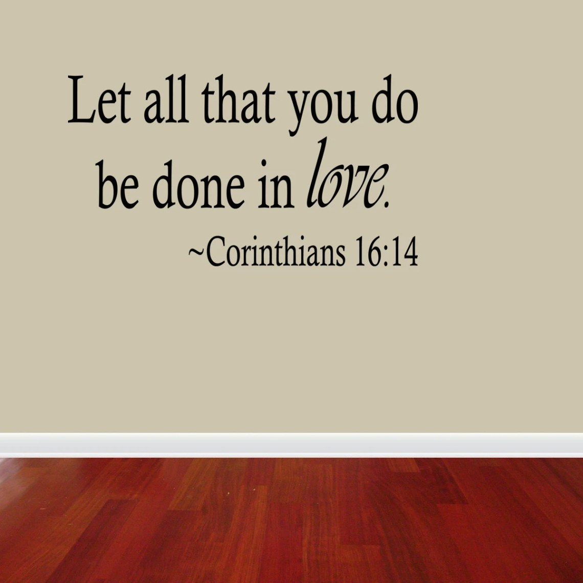 Download Let All That You Do Be Done In Love Corinthians 16:14 Vinyl