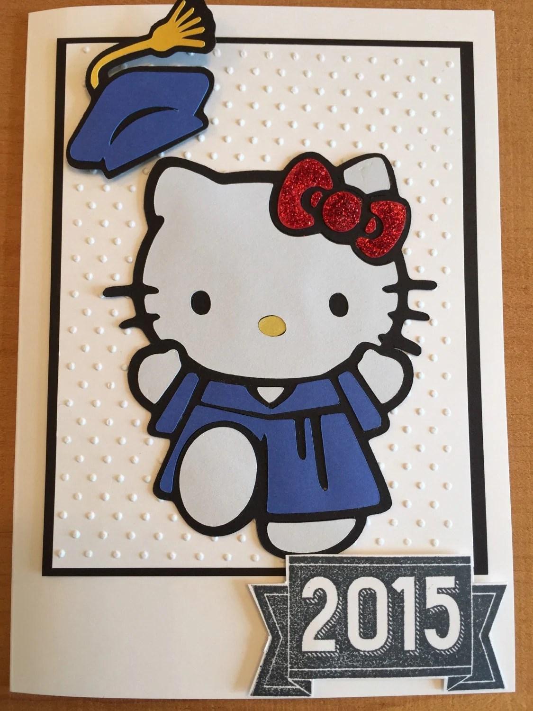 Hello Kitty Graduation Card Graduation Kindergarten