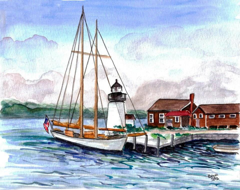 Mystic Seaport In Connecticut